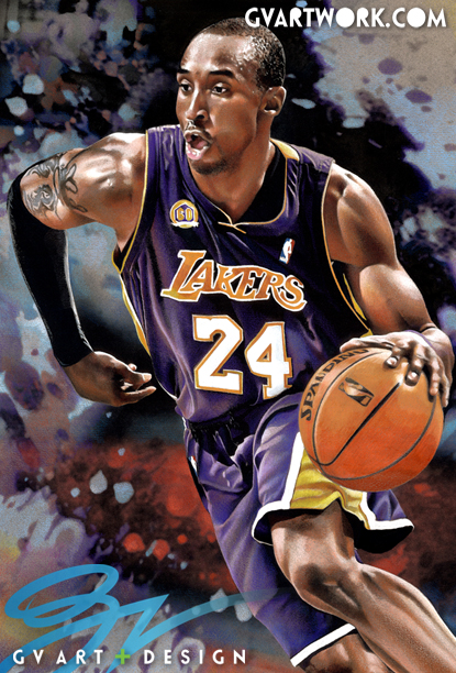 Kobe Bryant Artwork