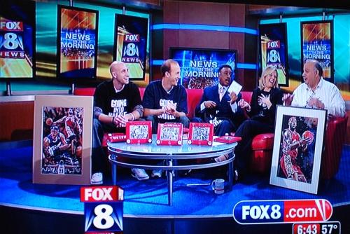 Fox 8 Morning show  | GVARTWORK COM BLOG